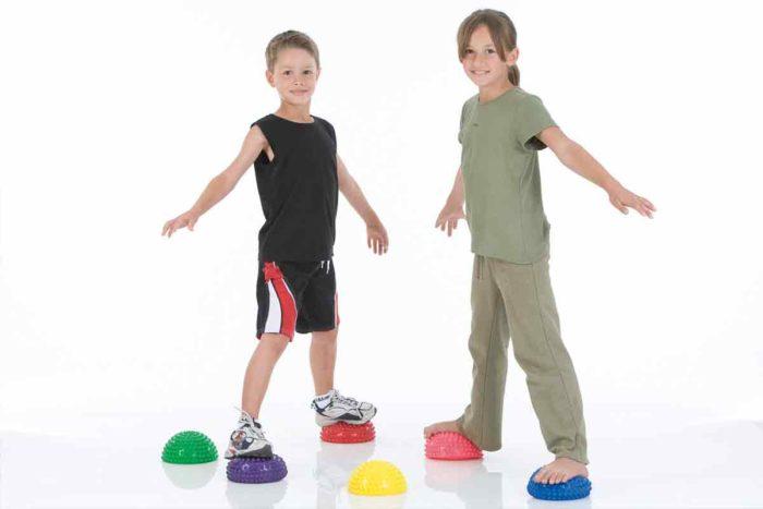 массажная-балансировочная полусфера. Для тренировки равновесия и массажа ступней
