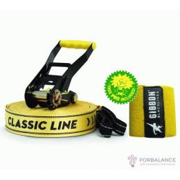 Комплект слэклайн Gibbon ClassicLine 15m (+защита дерева)