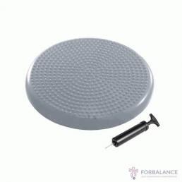 Балансировочная подушка массажная цвет серый