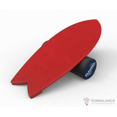 Баланс борд Shortboard Colors red