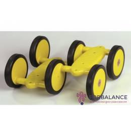 Детская каталка педальная, размер 41х35см, колесо d=15,5см